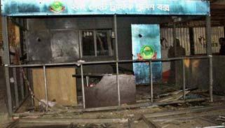 চট্টগ্রামে ট্রাফিক বক্সে বিস্ফোরণ : ২ পুলিশ দগ্ধ