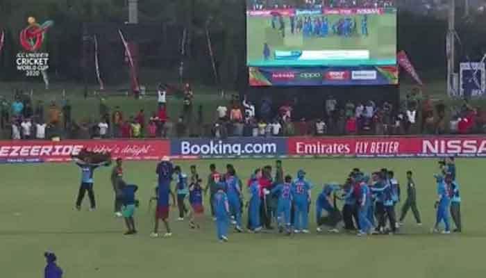 অনূর্ধ্ব-১৯ বিশ্বকাপ : বাংলাদেশ-ভারতের পাঁচ ক্রিকেটারকে শাস্তি