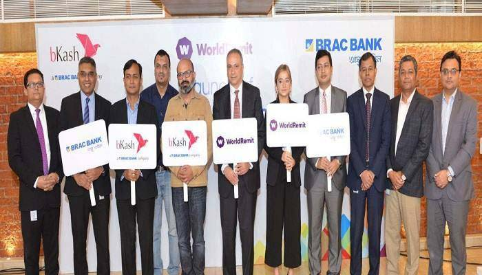 WorldRemit to deliver remittance via bKash and BRAC Bank