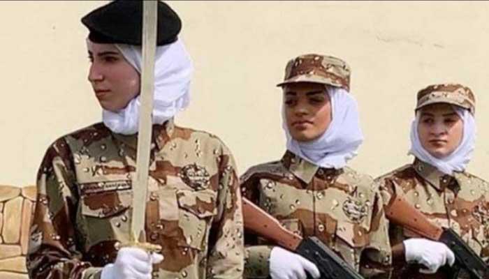 এবার সামরিক বাহিনীতেও যোগ দিতে পারবেন সৌদি নারীরা