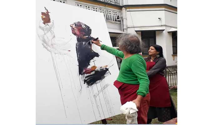 মুজিব বর্ষে কলকাতায় সোনার বাংলা আর্ট ক্যাম্প শুরু