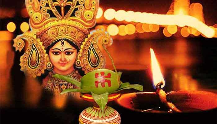 শারদীয় দুর্গোৎসবে বুধবার কুমারী পূজা