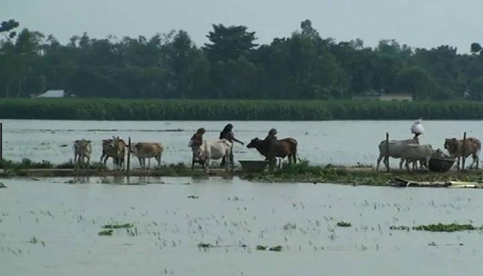 পাঁচ জেলায় বন্যার আশঙ্কা