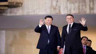 চীন ব্রাজিলের ভবিষ্যতের অংশীদার : বোলসোনারো
