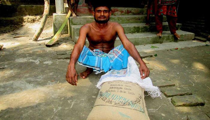 রাজাপুরে ১০ টাকা কেজির চাল কালো বাজারে বিক্রি