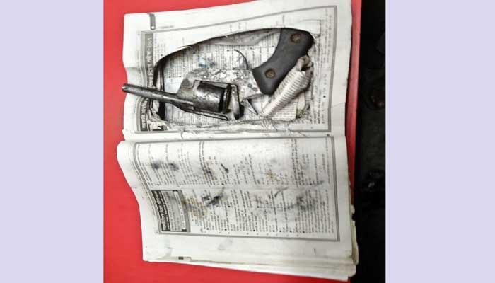 বগুড়ায় শিক্ষক নিয়োগ গাইড বইয়ের ভিতর থেকে পিস্তল উদ্ধার