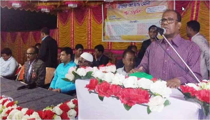 ঠাকুরগাঁওয়ে ৬০তম রুহিয়া আজাদ মেলার উদ্বোধন